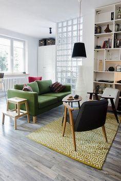 Квартира-студия в Польше всего на 38 квадратных метров, однако светлый фон... http://qoo.by/qLz