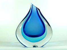 Salviati & Co. Murano Sommerso Vase ° Design Dino Martens ...