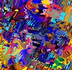 Fantasía Brillante 02, digital. Oksana Linde