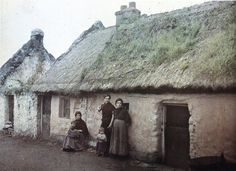 vintage ireland | small collection of old color photographs of life in Ireland, 1913
