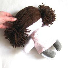 Rag doll toy plushie baby girl kid handmade by meilingerzita, $42.00