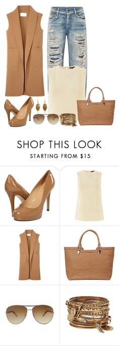 """""""Untitled #792"""" by gallant81 ❤ liked on Polyvore featuring мода, Kate Spade, Warehouse, Alexander Wang, Sandler, Nicole Miller и ALDO"""