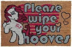 Please wipe your hooves -ovimatto, 15,99 €