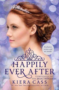 Portada revelada de Happily Ever After Libro que contendrá las 4 novelas, un mapa de Illéa, ilustraciones ¡y más!