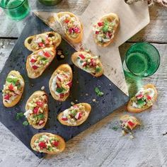 Field Pea-and-Radish Crostini | MyRecipes.com