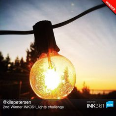 """2nd winner in """"Lights"""" Photo Challenge: Instagram user kilepetersen To participate: 1) In Instagram, take a new photo or select a photo from your library 2) tag photo with #ink361_lights Last day to submit a photo for this #challenge is December 20th, winners get a Blurb credit towards Photo Books. Happy photo sharing from the #Ink361 team! #photocompetitions #challenge #instagram via ink361.com"""