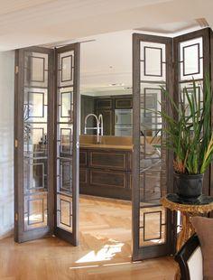 Bespoke joinery design by Birgit Israel Luxury Interior, Interior Styling, Room Interior, Home Upgrades, Folding Doors, Internal Doors, Office Interiors, Home Living Room, Home Renovation