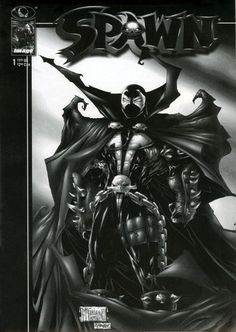 Spawn #1 rare black and white variant.  Click on the picture for more information...