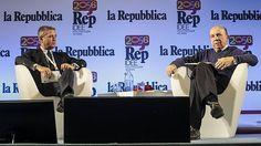 """L'ex direttore di """"Repubblica"""", Ezio Mauro, e l'ex presidente della Corte Costituzionale, Gustavo Zagrebelsky, si interrogano a partire dalla"""