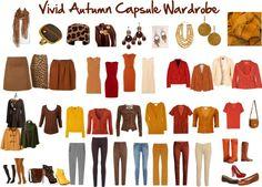 """Vivid Autumn Capsule Wardrobe"" by jeaninebyers ❤ liked on Polyvore"
