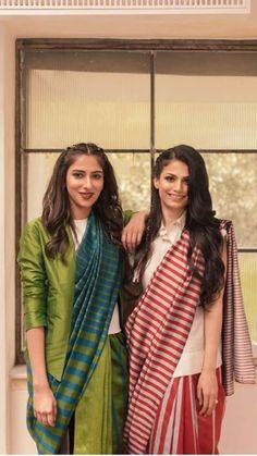 Clothes Rack Pipe 32 New Ideas Sari Blouse Designs, Saree Blouse Patterns, Trendy Sarees, Stylish Sarees, Indian Fashion Trends, Indian Designer Outfits, Saree Draping Styles, Saree Styles, Indian Dresses