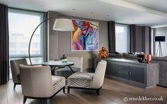 Luxury interior design by Rene Dekker Design   #interiordesign #interiordecor #livingroom #interiors #renedekkerdesign