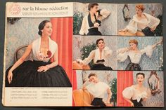 'ELLE' FRENCH VINTAGE MAGAZINE 28 APRIL 1952 | eBay