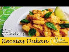 Pollo al curry Dukan (ataque o crucero) – Recetas Dukan Maria Martinez