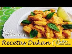 Pollo al Curry Dukan (dos versiones) / Dukan Chicken Curry, two ways - YouTube