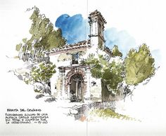 Luis Ruiz - Ermita del Calvario (Urban Sketchers)