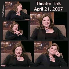 Theater Talk - April 21, 2007