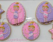 SUGAR&SPICE custom cookies for any occasion by shopforsugarandspice Gymnastics Birthday, Rolled Sugar Cookies, Custom Cookies, Sugar And Spice, Etsy Seller, Gift Ideas, Create, Gifts, Presents