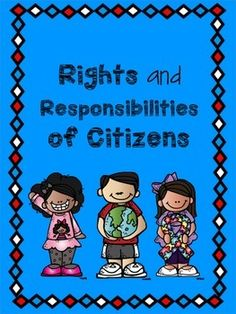 Childrens books about rules and responsibilities
