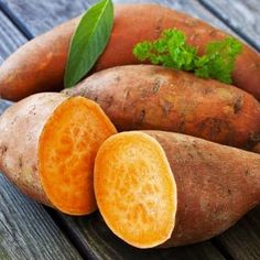 Sweet potatoes offer lots of nutrition for little money. Sweet potatoes are very high in vitamin A and are a good source of vitamins E and C, B vitamins, manganese, potassium and dietary fiber.