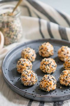 EVERYTHING BAGEL AND LOX KETO FAT BOMBS. 18 Ketogenic Snack Recipes to Whip Up Immediately #purewow #snack #food #recipe #ketogenic #healthy #cooking #ketosnacks #ketogenicsnacks