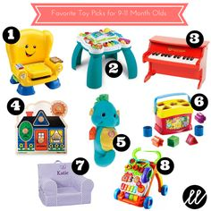 January Favorites: Toy Picks for 9-11 Month Olds - Little List