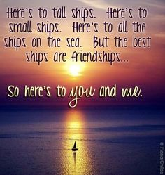 Friendships quote via www.Facebook.com/FionaChilds