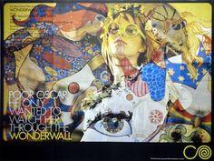 Wonderwall.  Remembering the 60's.  What was I thinking? Or was I thinking at all?    Wonderwall Poster, Jane Birkin music by George Harrison