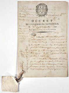 Décret sur les prêtres réfractaires (juin 1792)