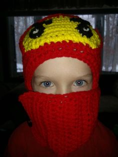 Hand Crocheted Lego Ninjago Inspired Hat with Wrap Around Scarf on Etsy, $20.35 AUD