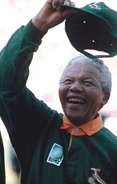 Nelson Mandela Celebrates 1995 Rugby World Cup Champions South Africa In 2020 South Africa Rugby World Cup Africa