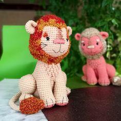 Crochet LION pattern, Amigurumi wild cat, lion cub, PDF tutorial in English Crochet Animal Patterns, Stuffed Animal Patterns, Crochet Patterns Amigurumi, Crochet Dolls, Crocheted Toys, Amigurumi Toys, Handmade Toys, Handmade Crafts, Handmade Ideas