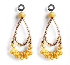 Antica Murrina, India Divinity earrings