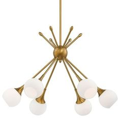 Midcentury Chandeliers by Shades of Light