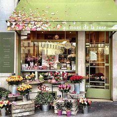 Flower shop Paris