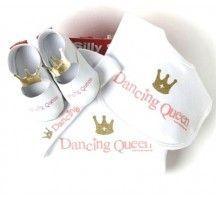 Dancing Queen 4 piece baby gift set