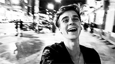 when he laughs i laugh ....cause he makes me laugh...a lot
