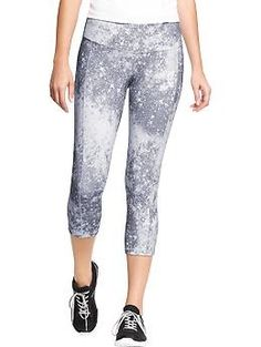 XS Womens Old Navy Active Printed-Compression Capris Workout Attire, Workout Wear, Workout Pants, Fitness And Beauty Tips, Sporty Outfits, Sporty Clothes, Fitness Fashion, Fitness Outfits, Fitness Wear