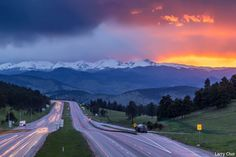 I-70 to Idaho Springs, Colorado. This view never gets old