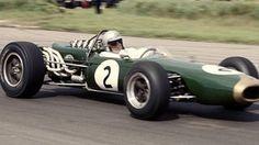 Jack Brabham at Silverstone