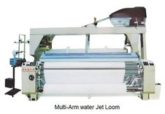 Two-pump Two-nozzle dobby shedding water jet loom $4000~$15000
