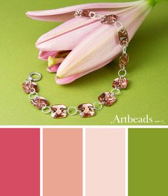 Inspiring Color Palettes for Spring - Artbeads Blog - Sweet Squares