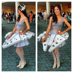 Millennium Falcon From Star Wars costume