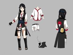 naruto oc outfits - Google Search