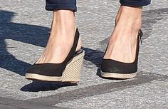 Kate's wedged shoes