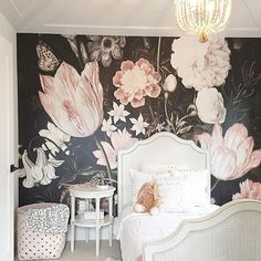 I am in love with this wall mural. I am doing a loft space for a client and using this on the back wall. It just makes the space! This paper is art! @sucasadesign