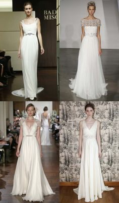 Beautiful Brides… 2013 Bridal Trends You Need to Know - Grecian Godesses