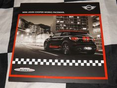 MINI JOHN COOPER WORKS PACEMAN BRIEF TECHNICAL BROCHURE OVERVIEW 2012 RARE