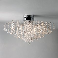 John Lewis Callisto Semi-flush Ceiling Light