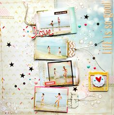 Life is so good! #Layout by Agnes from Studio Mirabeel